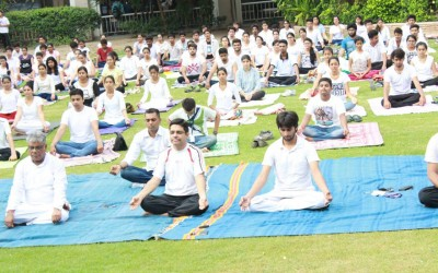 Healthy Campus celebrates World Yoga Day1