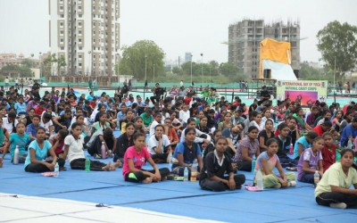 Healthy Campus celebrates World Yoga Day10