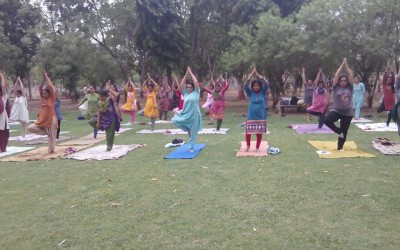Healthy Campus celebrates World Yoga Day3