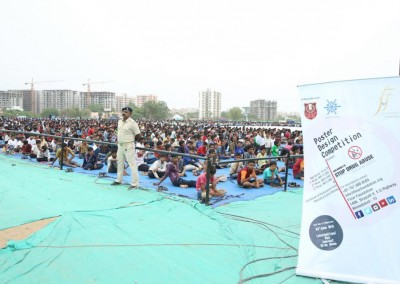 Healthy Campus celebrates World Yoga Day6