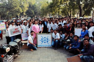 Bike Rally at KS School Of Management